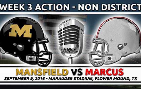 9/9/2016: Mansfield vs Marcus