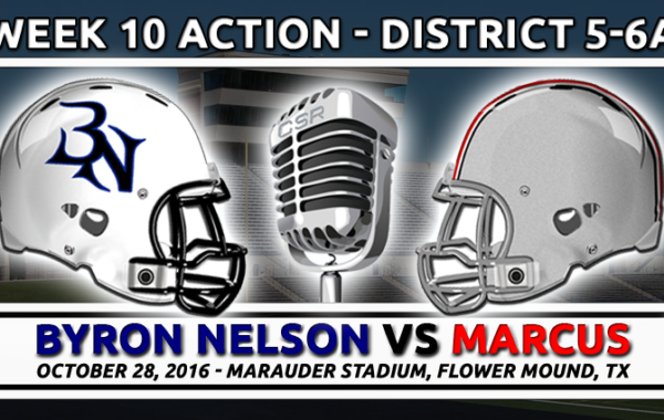 10/28/2016: Byron Nelson vs Marcus