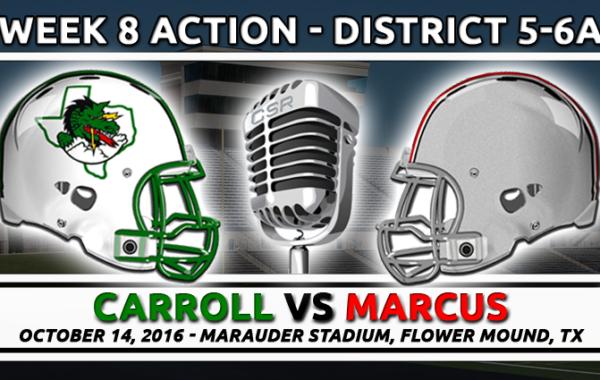 10/14/2016: Carroll vs Marcus
