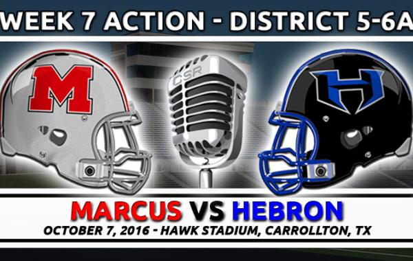 10/7/2016: Marcus vs Hebron (Marauders Broadcast)