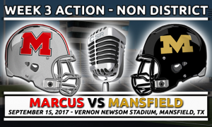 Marcus at Mansfield